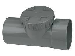 Ontstoppingsstuk Afvoer PVC Lijm