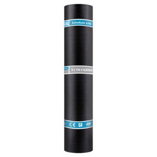 470K24 EshaGum 470 Zwart 5 x 1mtr