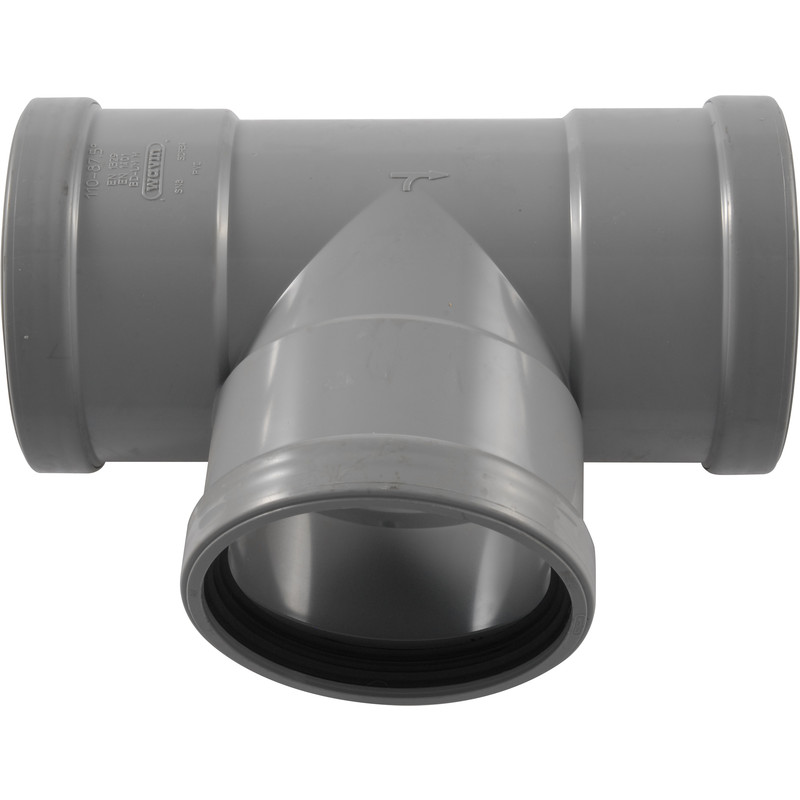T-Stuk 90° Afvoer PVC Manchet