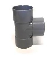 T-Stuk 90° Afvoer PVC Lijm