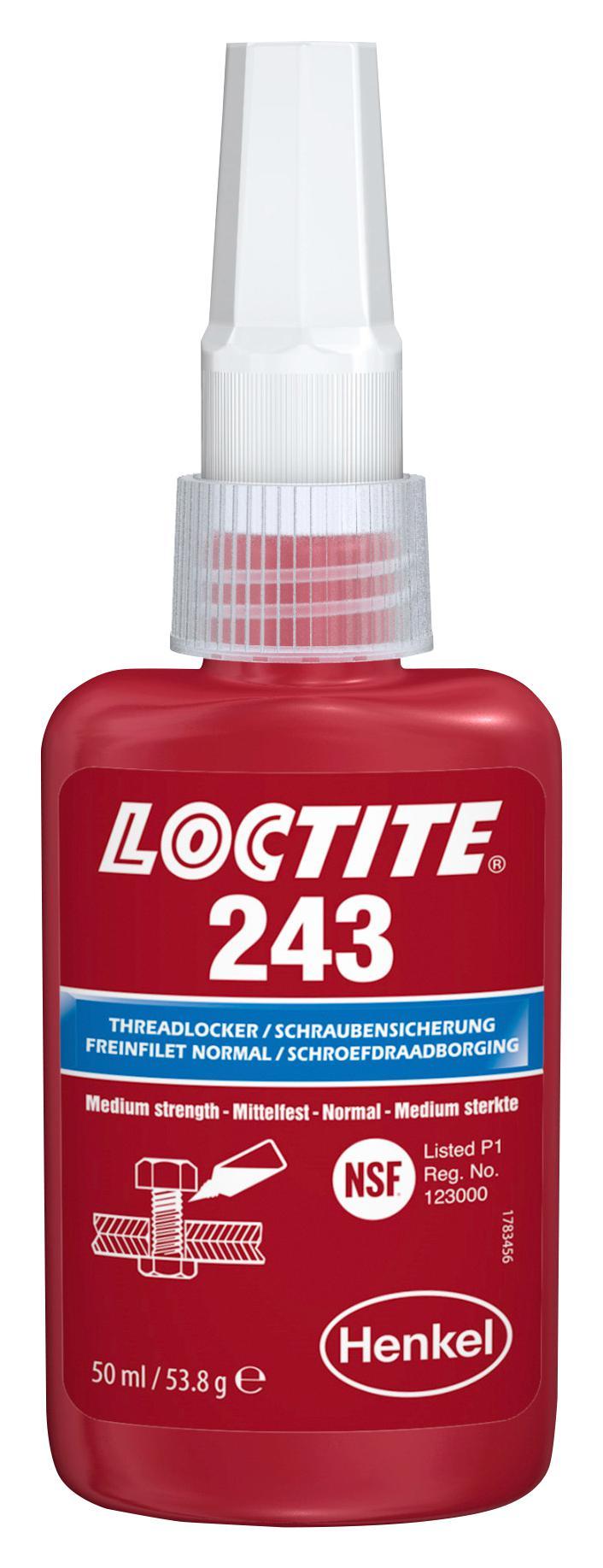 Loctite 243 50ml Schroefdraadborging